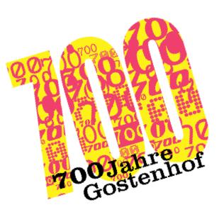 Logo der Festveranstaltung 700 Jahre Gostenhof