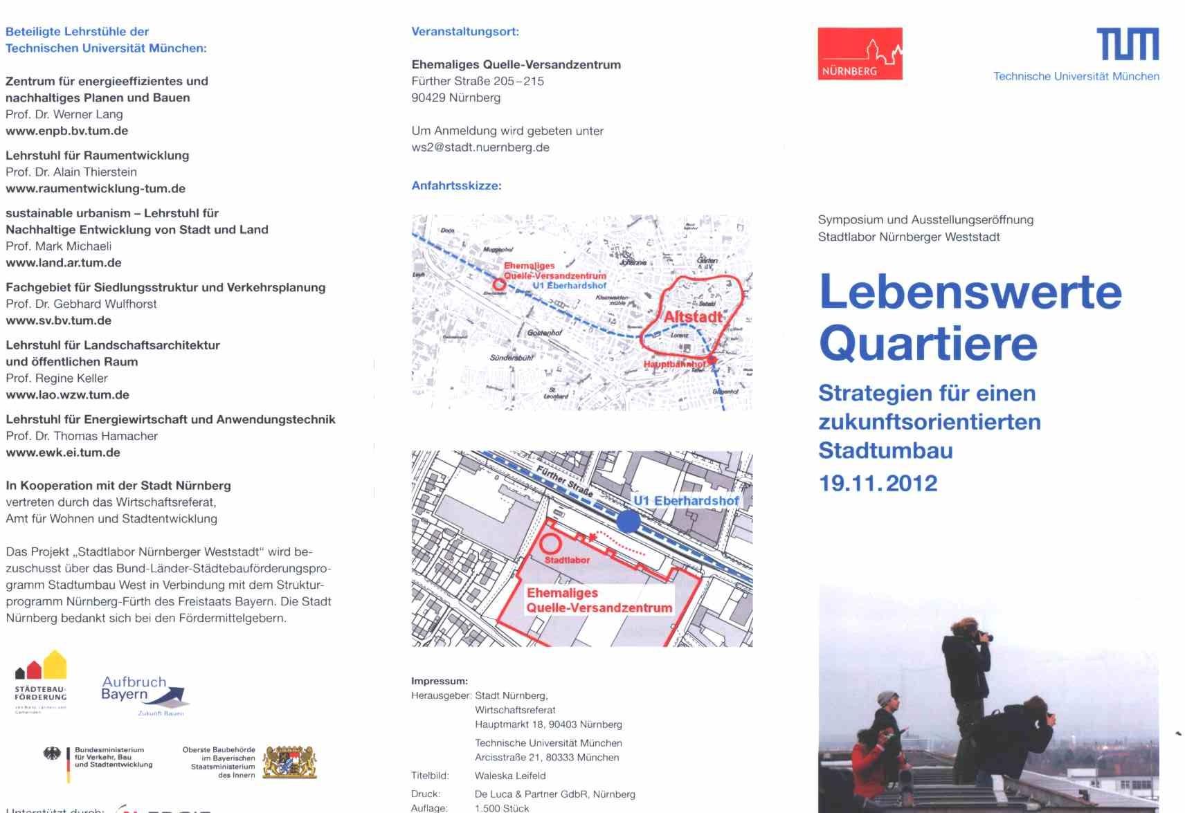 Einladung zum Symposium - Aussenseite